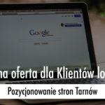 pozycjonowanie stron Tarnów